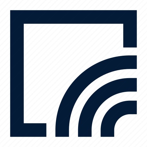 channel, feed, news icon