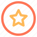 badge, ecommerce, star, verified icon