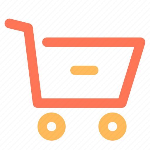 cart, ecommerce, remove icon