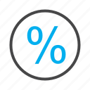 discount, percentage, sale, shopping icon