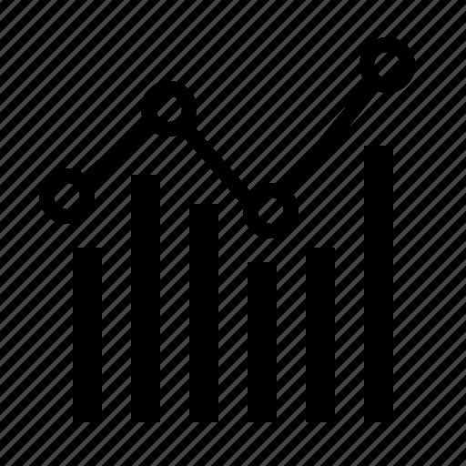 analytics, chart, data, diagram, info, mini, report icon