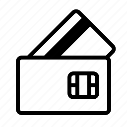 commerce, credit card, financial, mini, payment icon