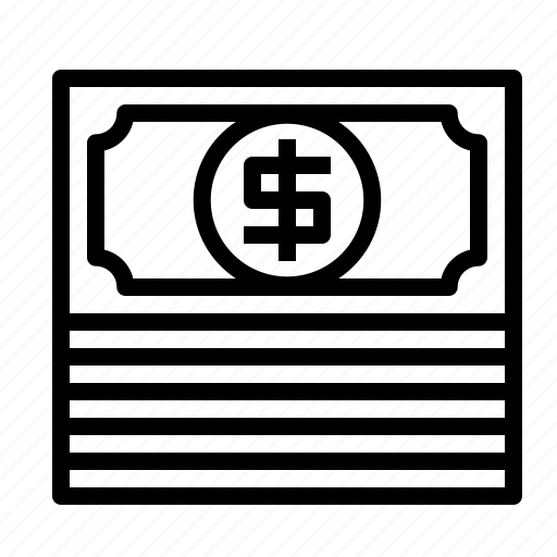 cash, dollar, mini, money, payment icon