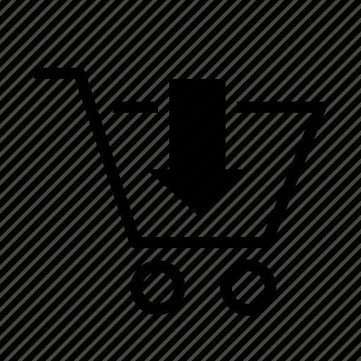 business, buy, cart, ecommerce, mini, shopping cart icon