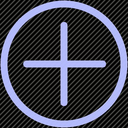 add, arrow, circle, direction, mix, navigation, plus icon