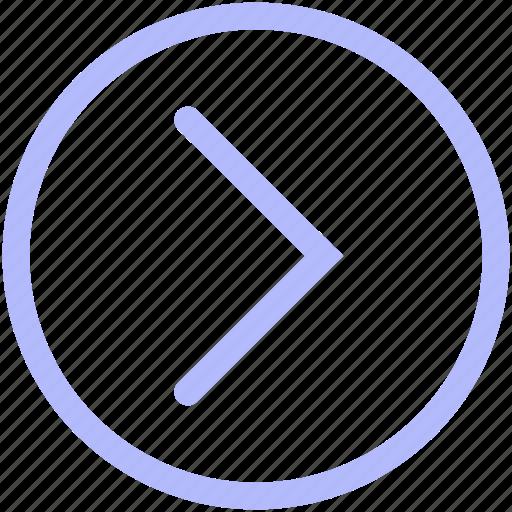 arrow, circle, keyboard, mix, right, set icon