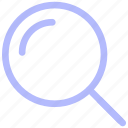 business, detail, find, glass, magnifier, magnifying, search icon