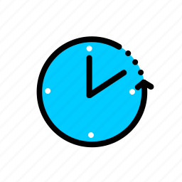 clock, schedule, time, timer, waiting icon