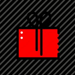 box, gift, present, prize, promo icon