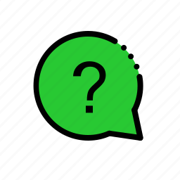 assignment, faq, job, problem, query, question, task icon