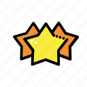 popularity, rank, ranking, rating, star icon