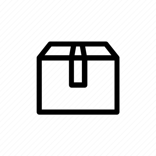 box, package, parcel, shipping icon