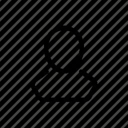 account, head, human, person, profile, user icon