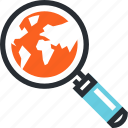 ecommerce, internet, location, sale, search, shopping icon