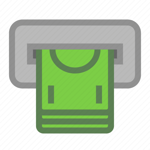 atm, bank, cash, machine, money, withdraw icon