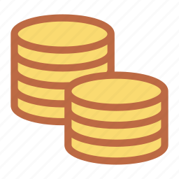 cash, change, coin, gold, money, pay icon