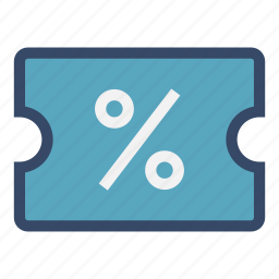coupon, cut, discount, percent, price, sale icon
