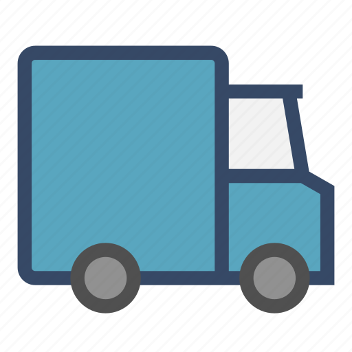 courier, delivery, drive, package, ship, truck icon