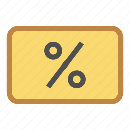 bonus, card, cut, discount, loyalty, percent, price icon