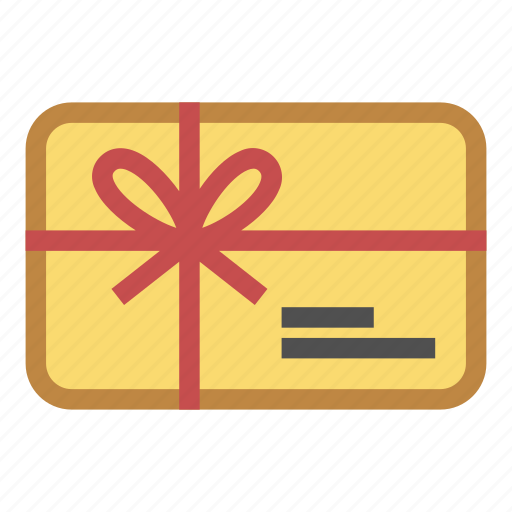 buy, card, coupon, gift, give, present, shopping icon