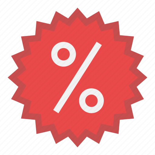 cheap, offer, percent, price, profitable, sale icon
