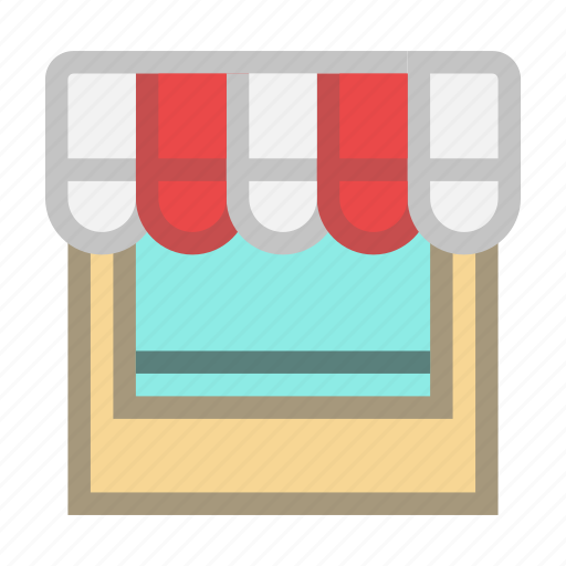 buy, goods, sell, shop, showcase, store icon