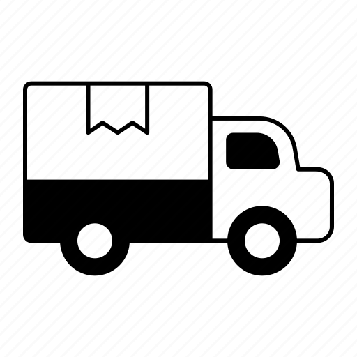 commercial, delivery, logistic, shipping, transportation, truck icon