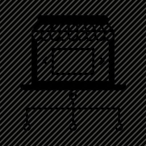 Multichannel, omni, communication, channel, marketing, store icon