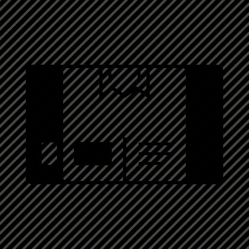 box, distribution, goods, management, stock, storage icon