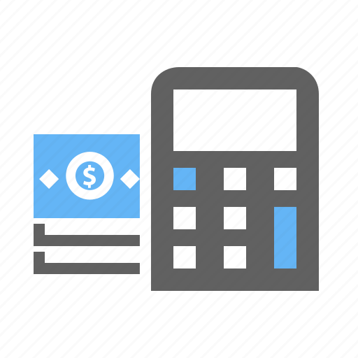 bill, calculation, calculator, dollar, mathematics, scientific icon