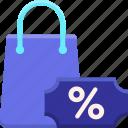 black, chart, friday, sales icon