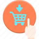 shopping, cart, buy, now icon