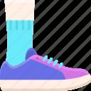 fashion, footwear, mens, shoes icon