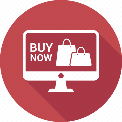 buy now, computer, display, monitor, online shoping, screen icon