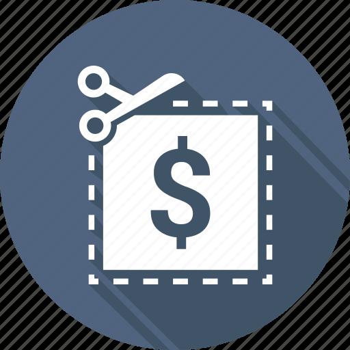 bargain, coupon, discount, price cut, rebate, sale icon