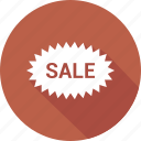 discount, sale, stamp icon