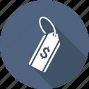 dollar, price, shopping, tag