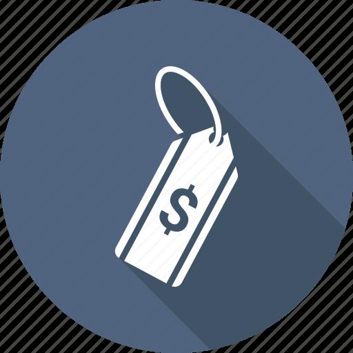 dollar, price, shopping, tag icon