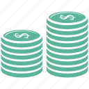 banking, business, coin, finance icon
