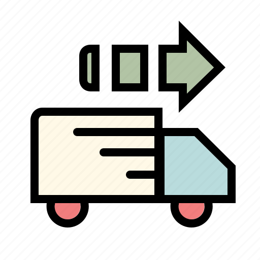business, cargo, delivery, mailing, online, shipping, transport icon
