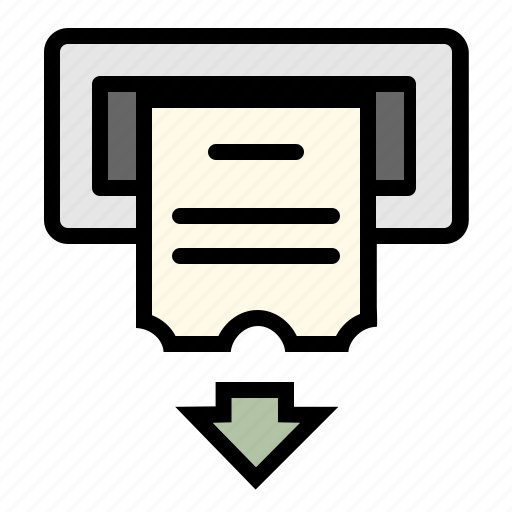 billing, business, checkout, cheque, online, order, payment icon