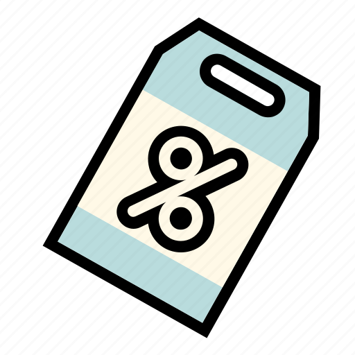 business, discount, online, percent, sale, sellout, tag icon