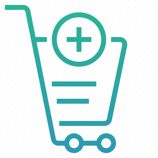 add, add to cart, basket, buy, cart, ecommerce, shopping icon