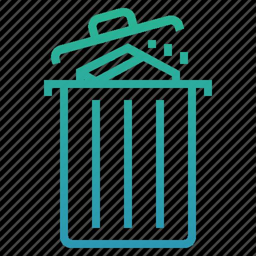 bin, cancel, delete, garbage, item, remove, trash icon
