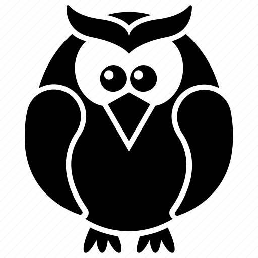 Bird, cartoon owl, owl, wisdom, wise bird icon - Download on Iconfinder