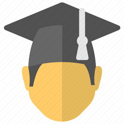 Degree holder, graduate, postgraduate, scholar, student icon - Download on Iconfinder