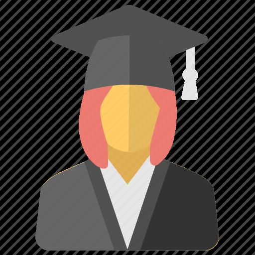 Graduate, pupil, scholar, student, university student icon - Download on Iconfinder