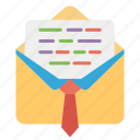 educational email, inbox, mail, message, student mail icon
