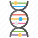 deoxyribonucleic acid, dna, dna test, genes, genetics icon