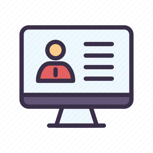 Course, education, elearning, learning, online, study, teacher icon - Download on Iconfinder
